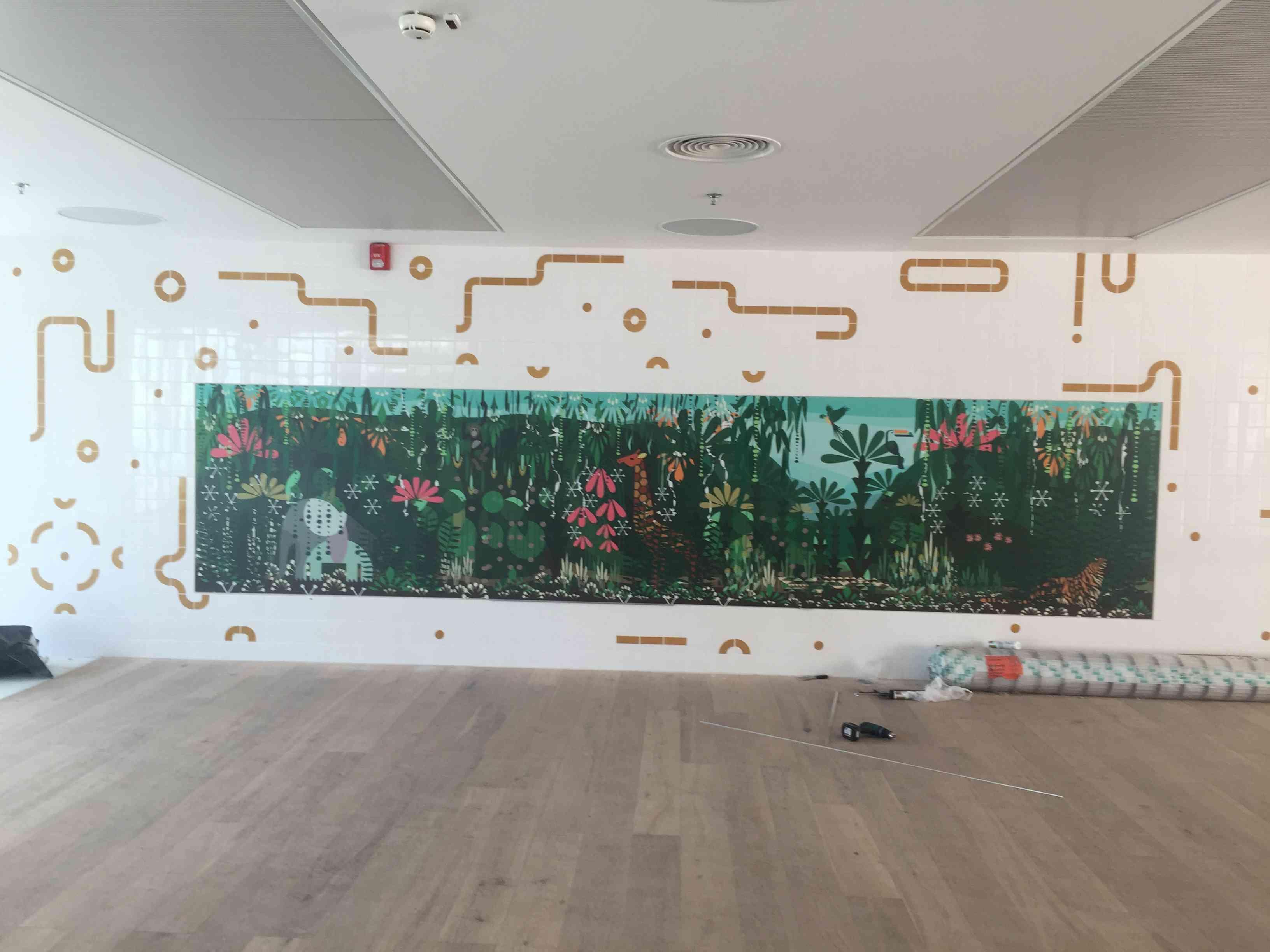"""לדרמן חריטה אומנותית - שילוט המרכז לבריאות הילד ביה""""ח זיו בצפת"""