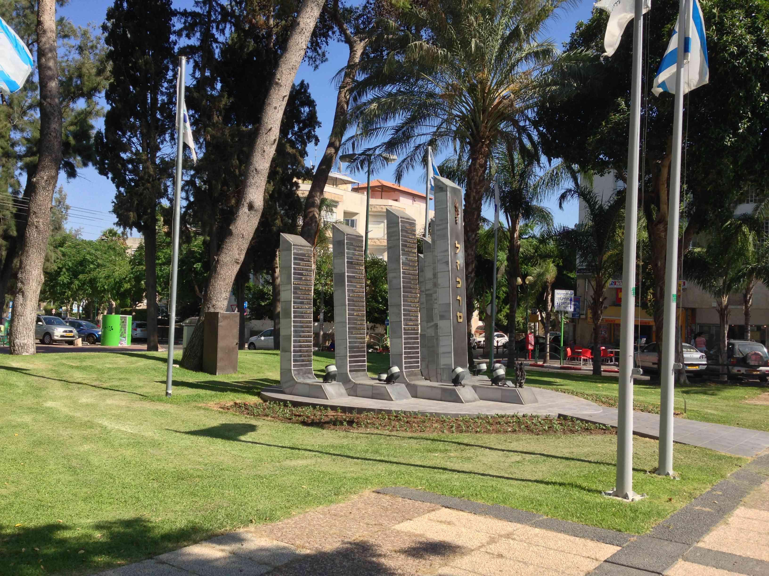 הקמת אנדרטאות ומוקדי הנצחה